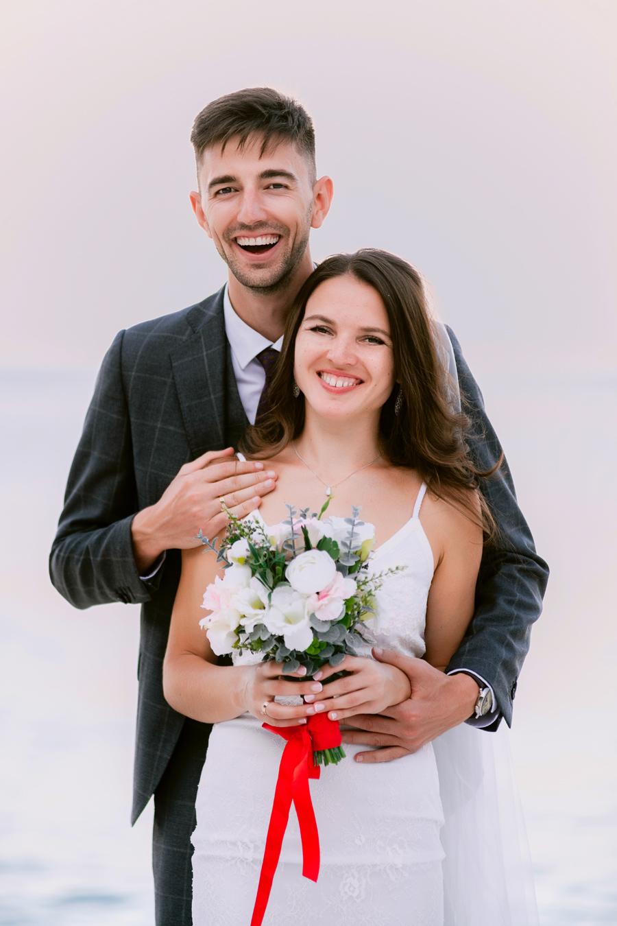 Constantin & Sorina Sunset Wedding at Thassos island